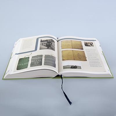 Boek ontwerp - Vrijgevochten Degelijk